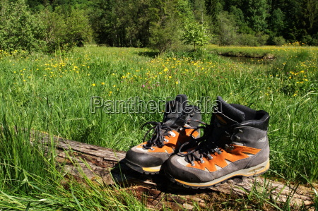 mountain, boots, and, nature - 1297761