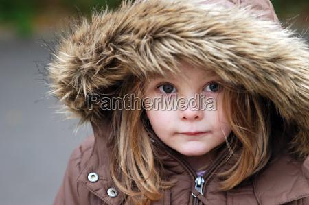 my, girl, in, fur, hood - 1310237