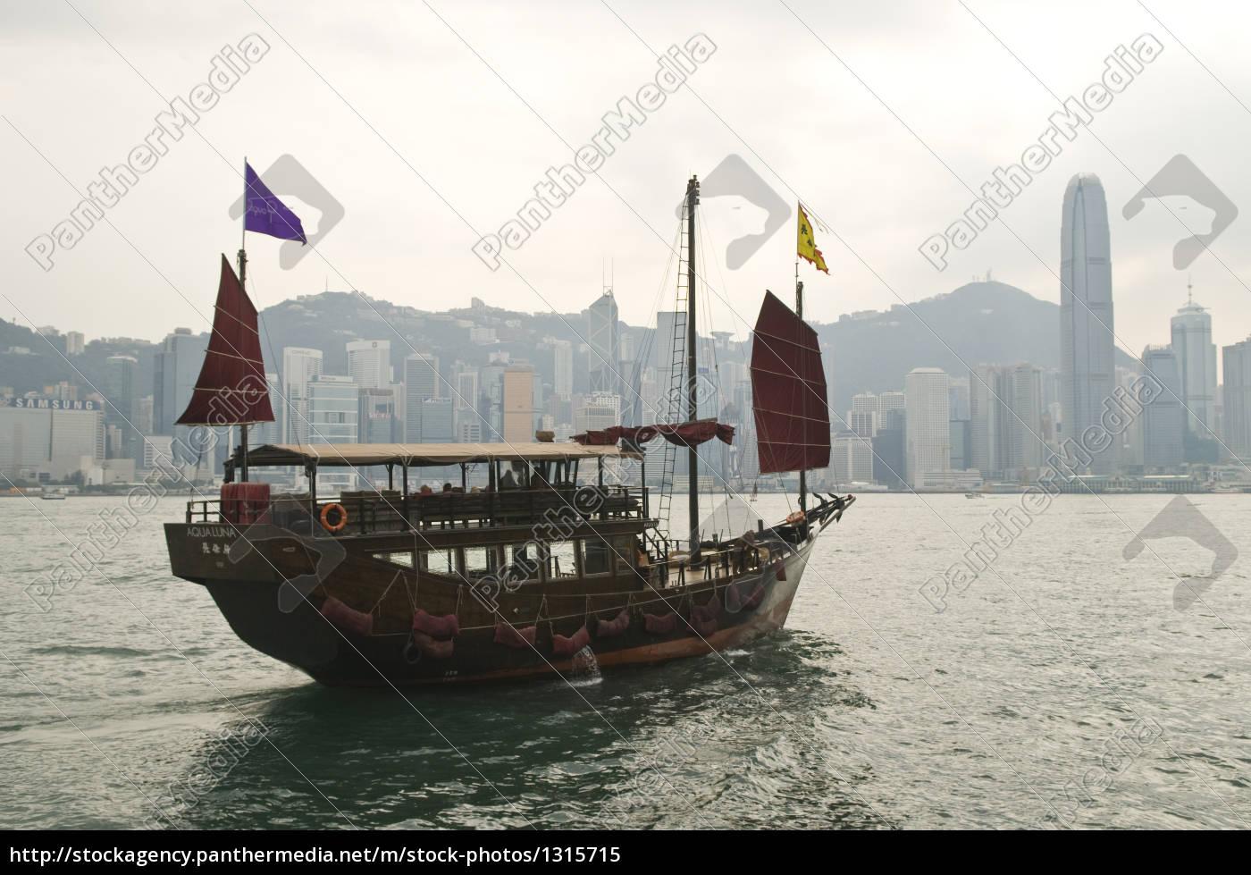 junk, hongkong - 1315715