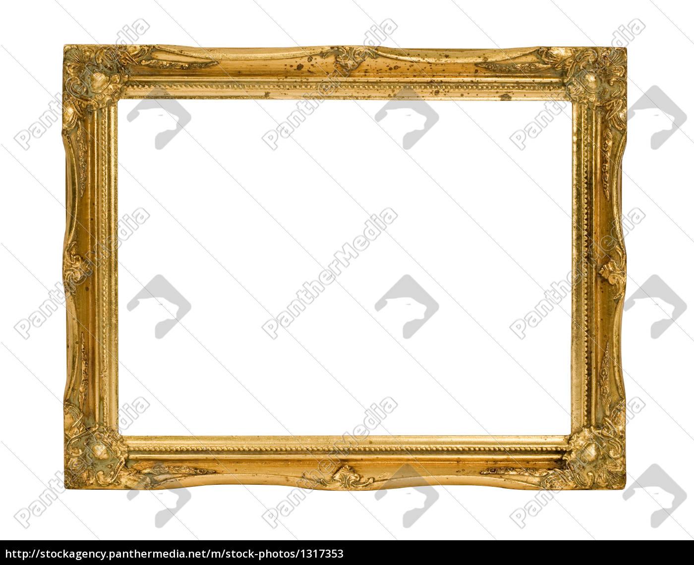 gold, frame, 1 - 1317353