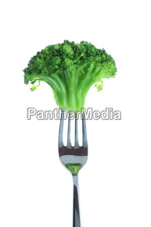 broccoli, on, a, fork - 1319375