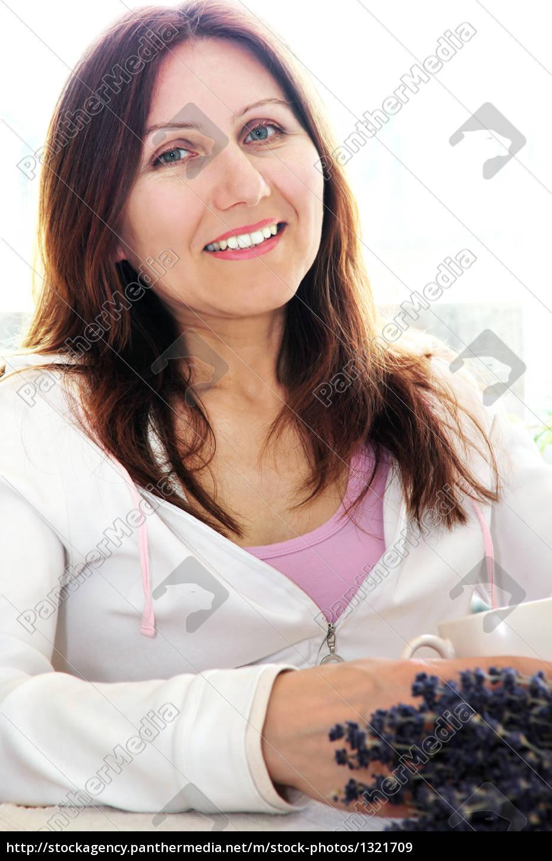 mature, woman, relaxing - 1321709