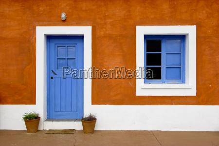 blue, window, and, door - 1323085