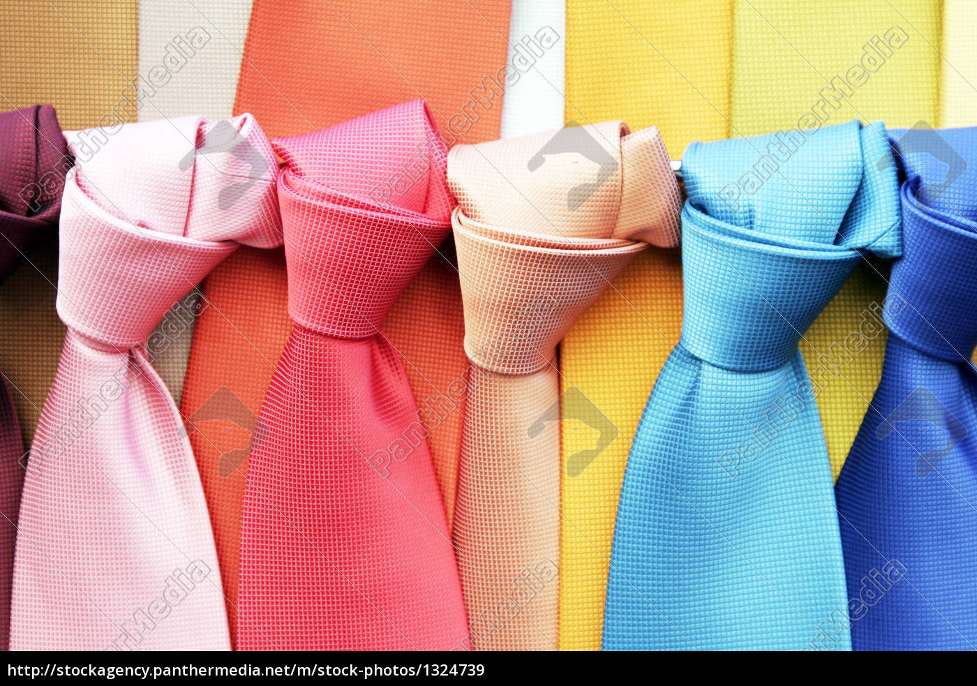 colourful, ties - 1324739