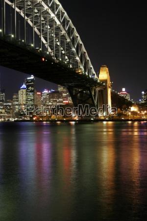 sydney, harbour, bridge, at, night - 1326991