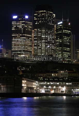 sydney, at, night - 1327043