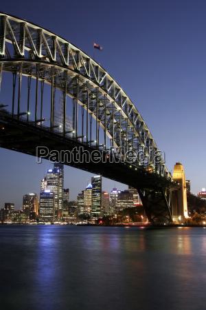 sydney, harbour, bridge, at, night - 1327155