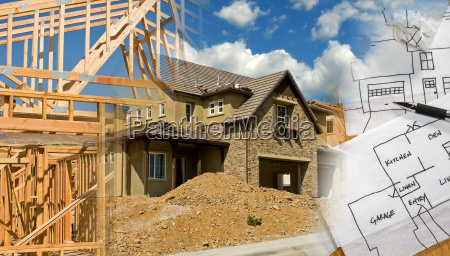architect, and, construction, montage - 1328375
