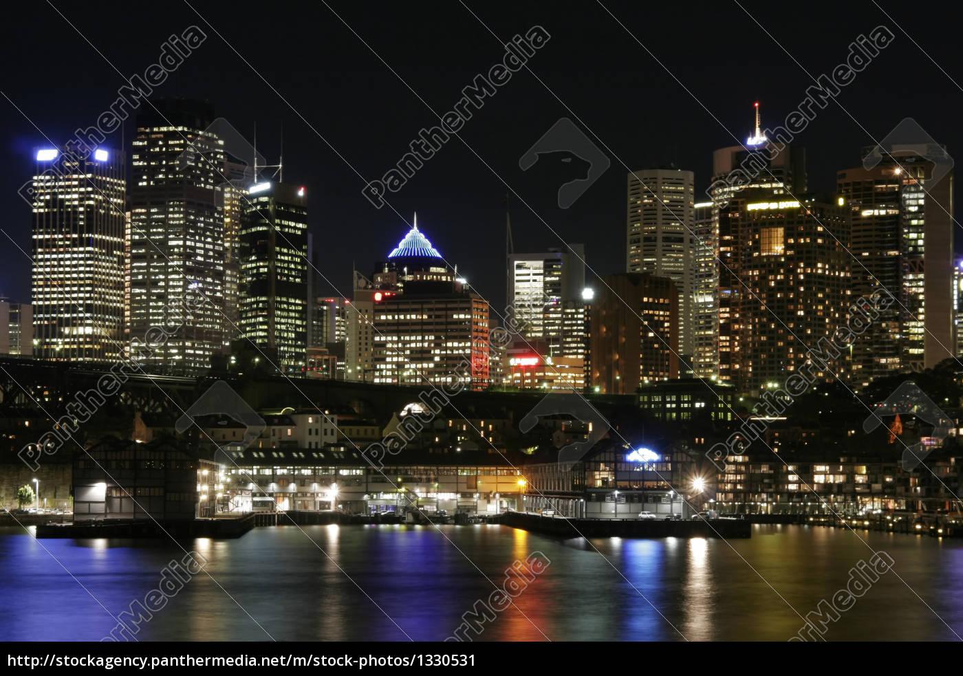 sydney, at, night - 1330531