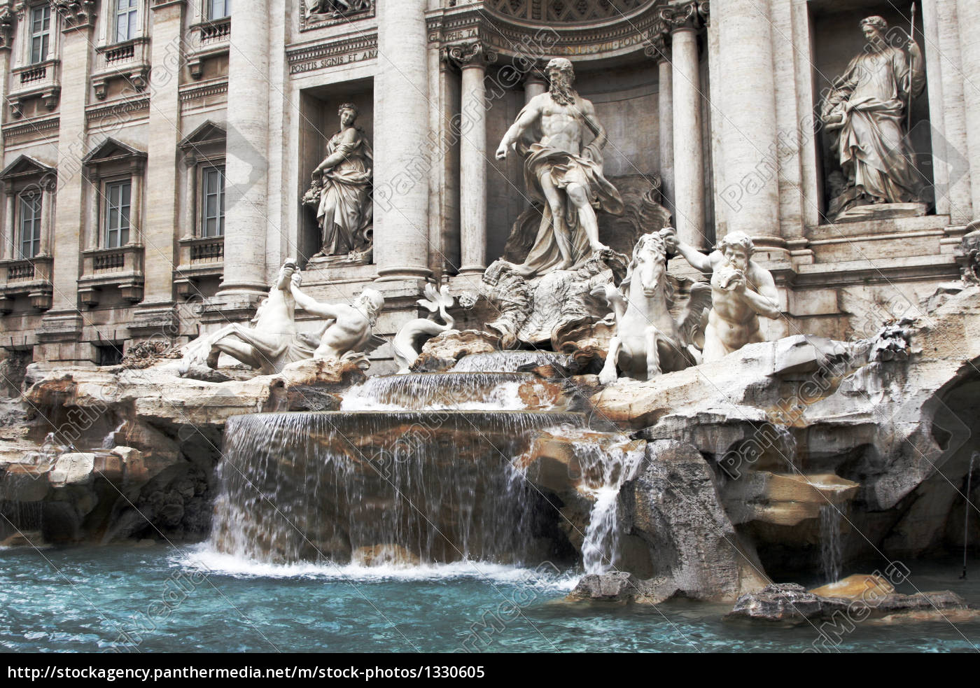 trevi, fountain, in, rome, , italy - 1330605