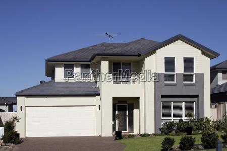 modern, suburban, house - 1332101