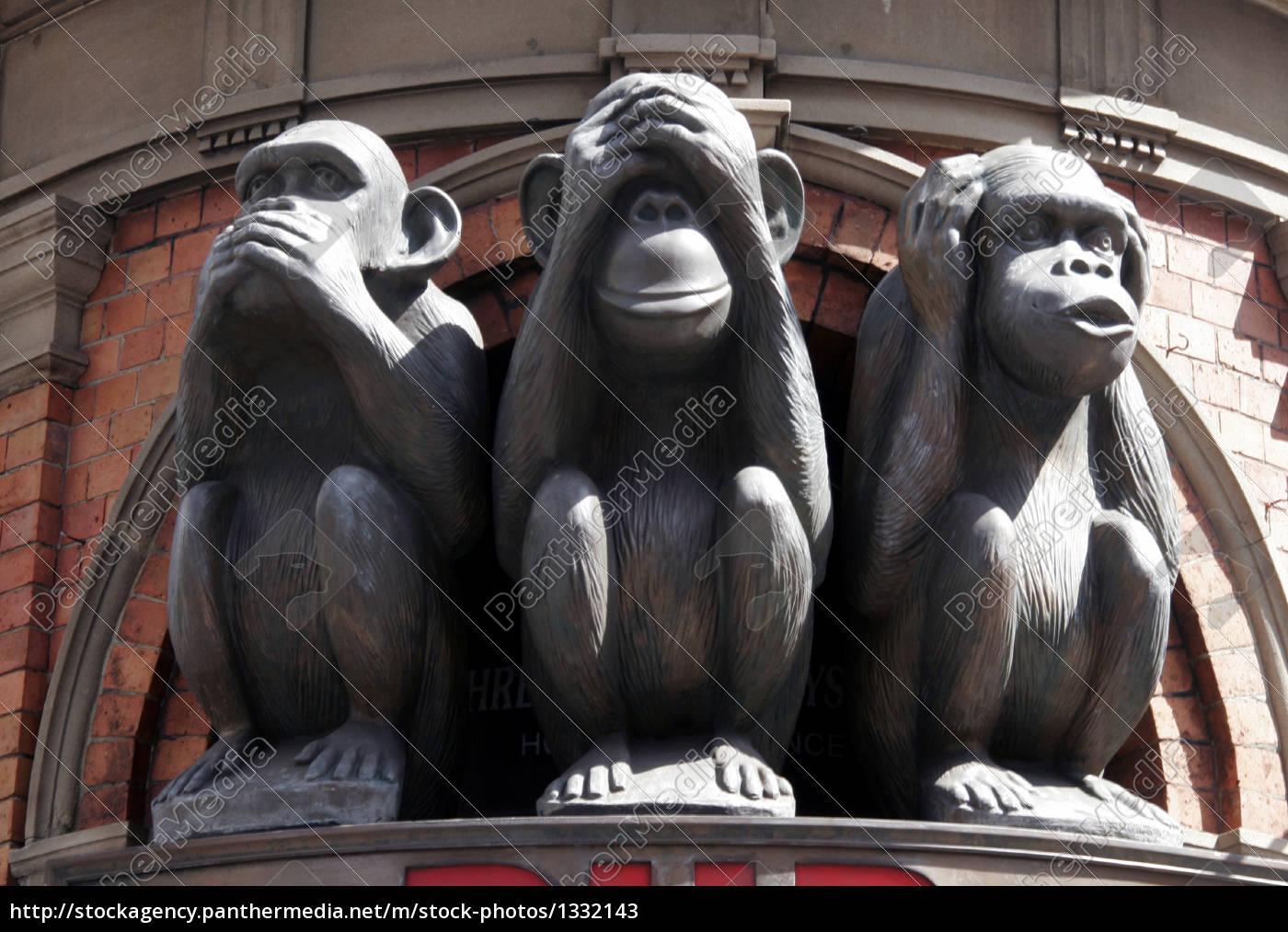 three, monkeys - 1332143