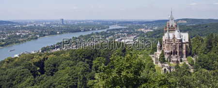 view from the drachenfels