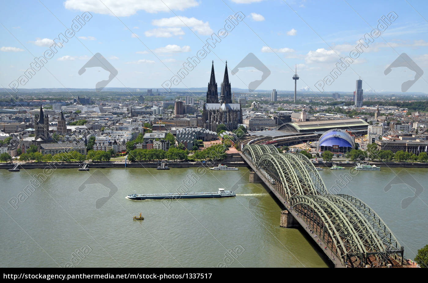 cologne, on, the, rhine - 1337517