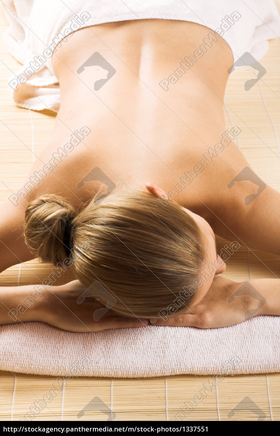relaxed, woman, at, wellness - 1337551