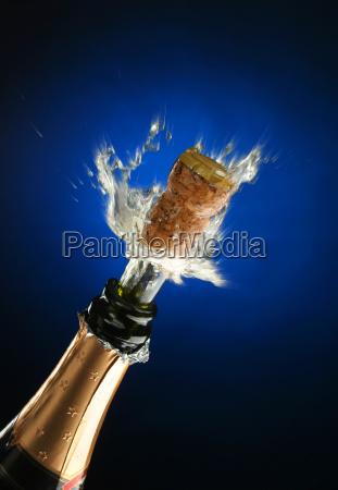 champagne, bottle, ready, for, celebration - 1338201