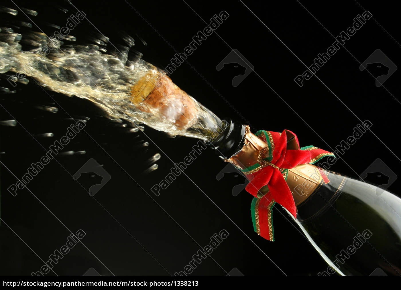 champagne, bottle, ready, for, celebration - 1338213
