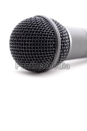 microphone, on, white - 1338535