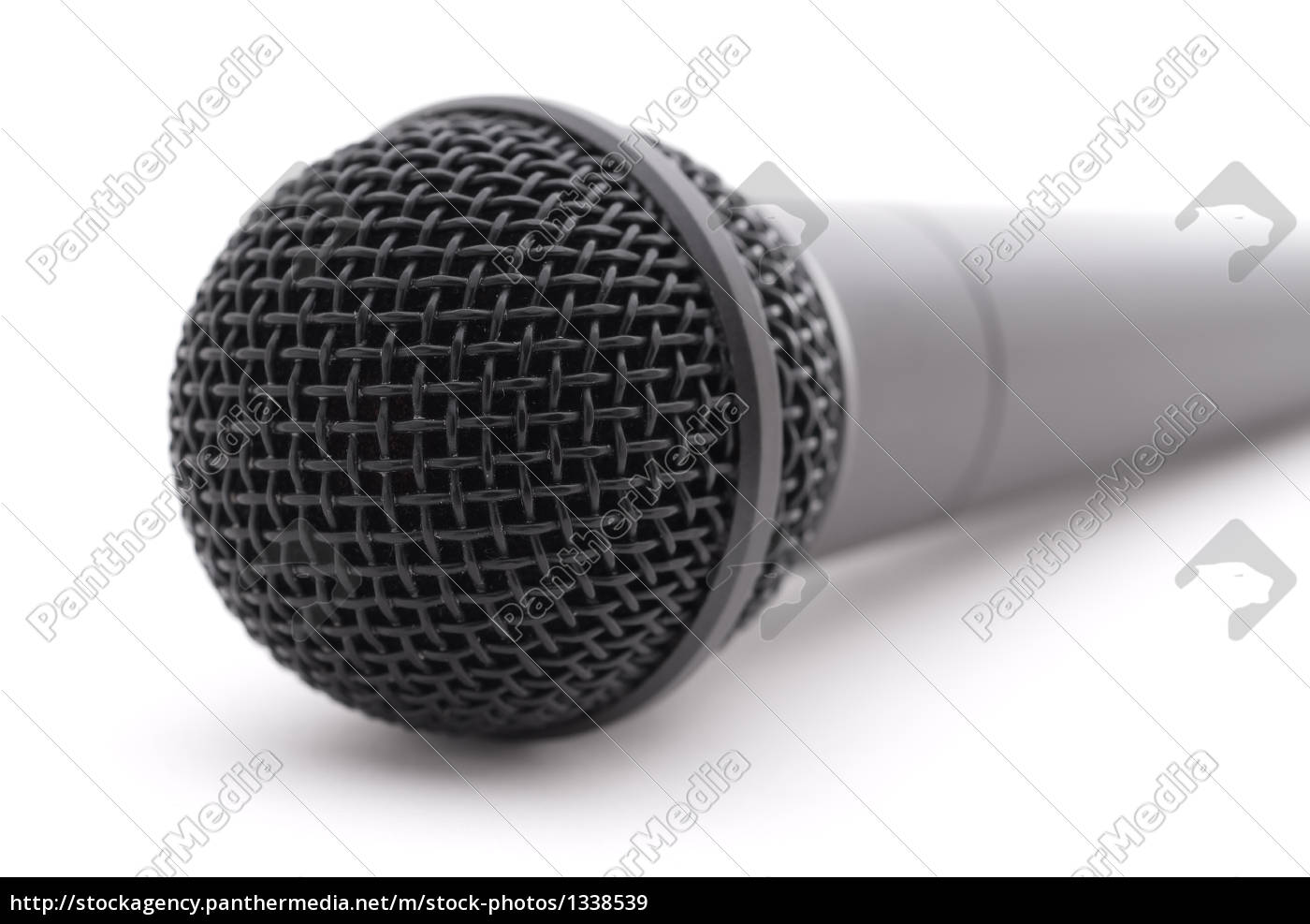 microphone, on, white - 1338539