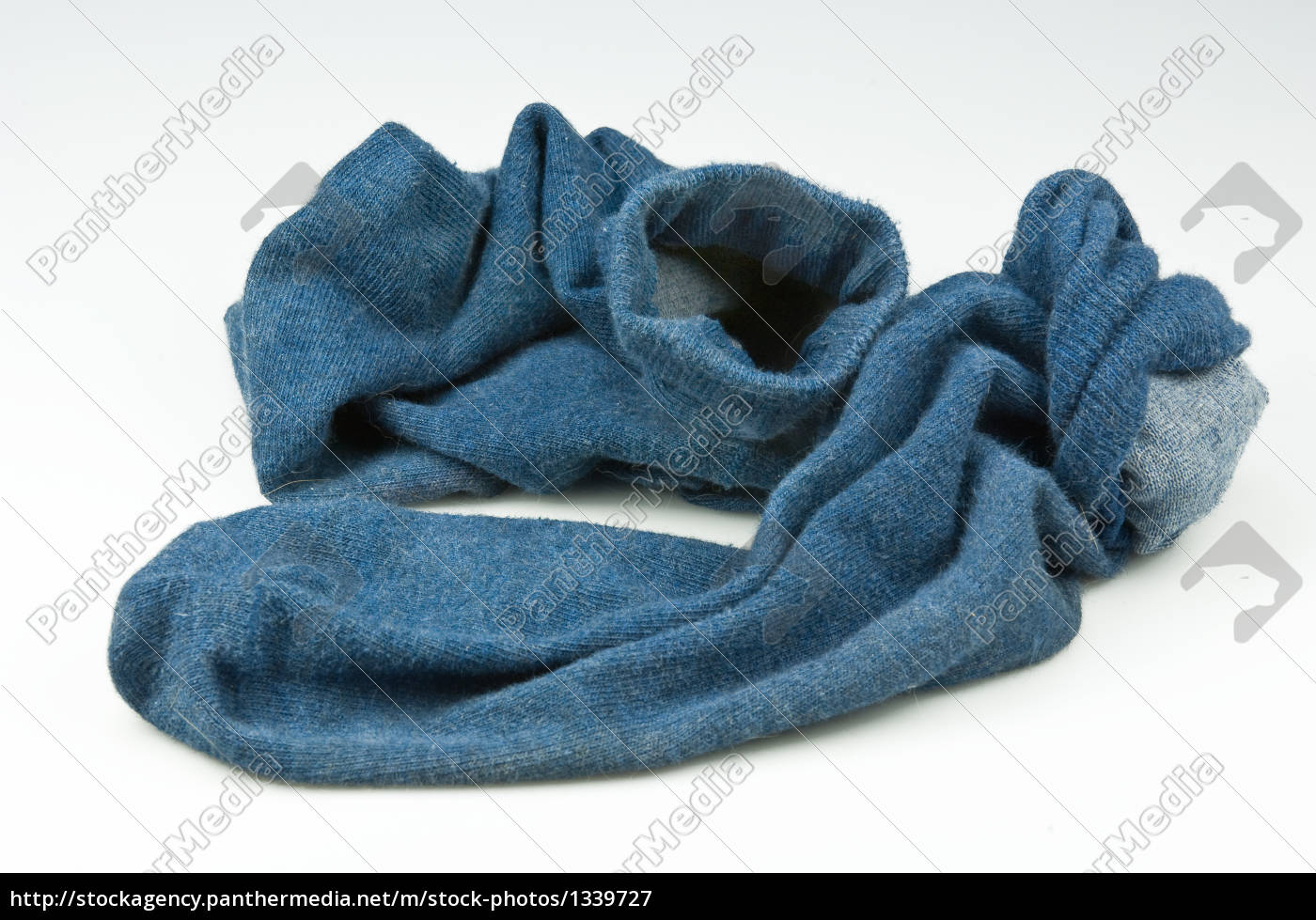 blue, worn, socks - 1339727