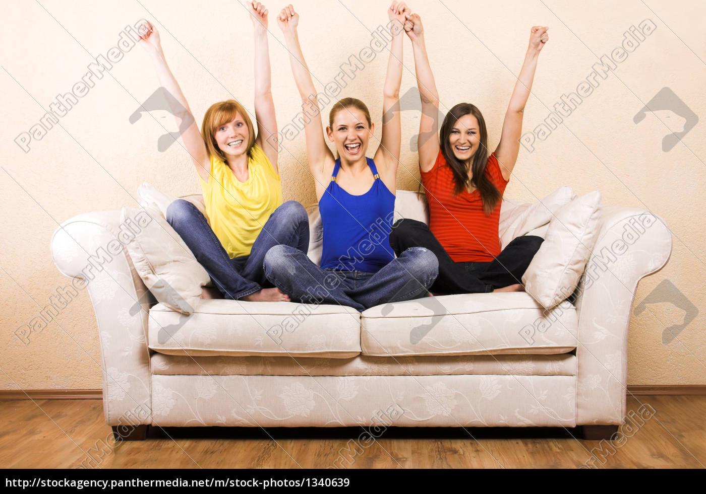 three, women, when, cheering, on, a - 1340639