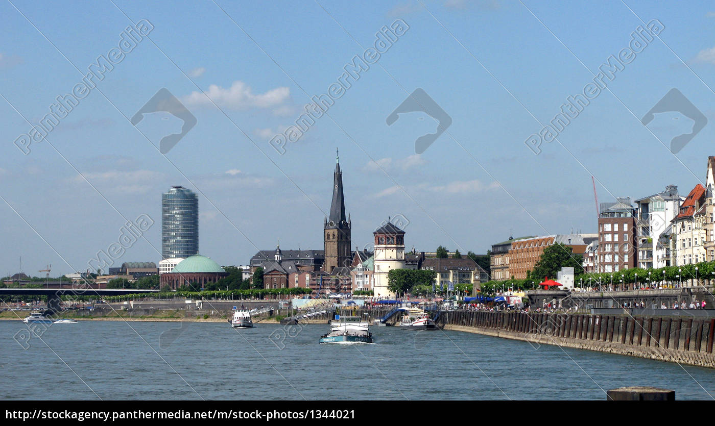 view, of, dusseldorf - 1344021