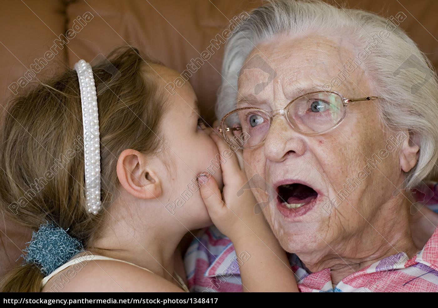 secret, between, grandmother, and, grandson - 1348417