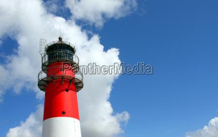 busum, lighthouse, close-up - 1350967