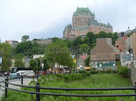 chateau, de, frontenac, quebec, canada - 1350831