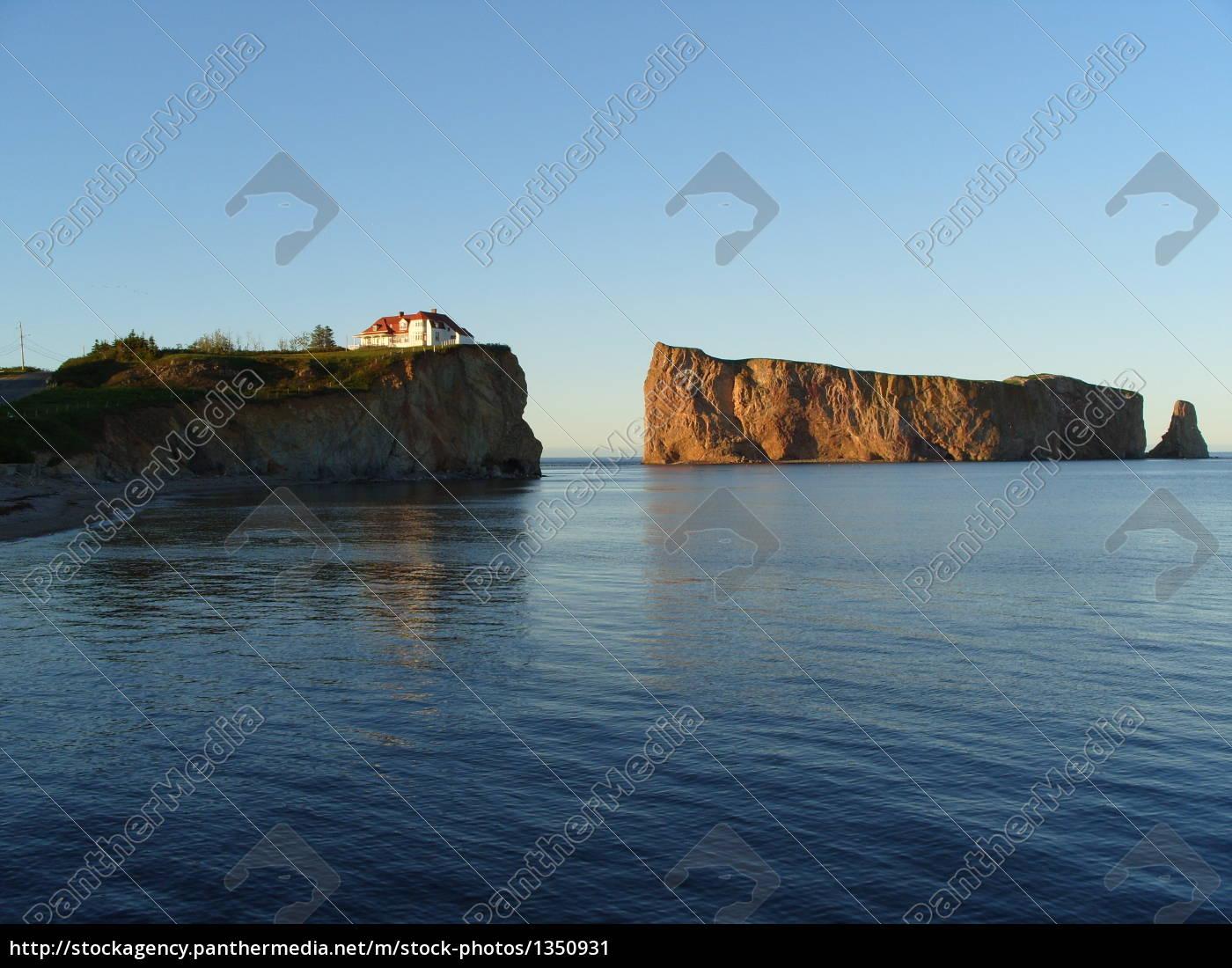 perce, rock, (roger, perce), canada - 1350931