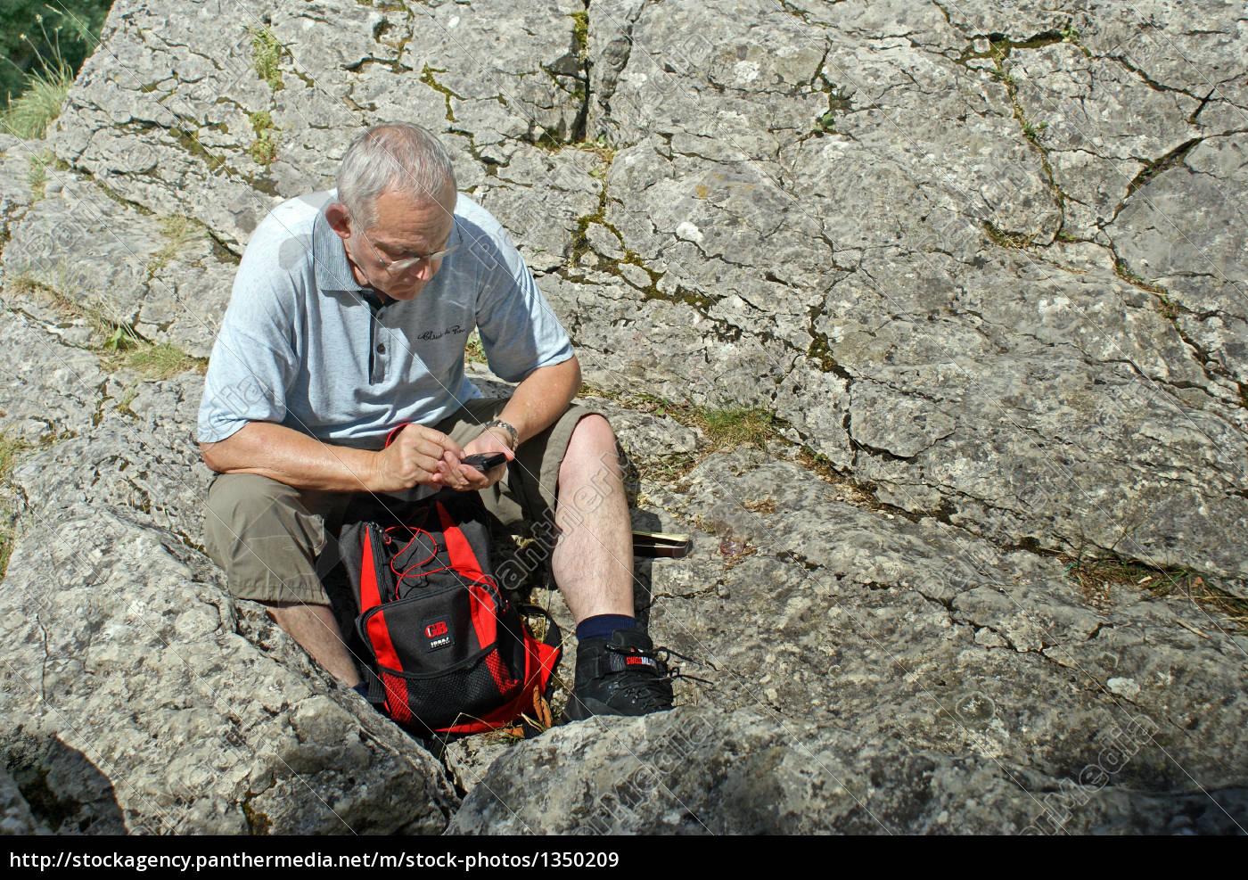 senior, writing, at, sms - 1350209