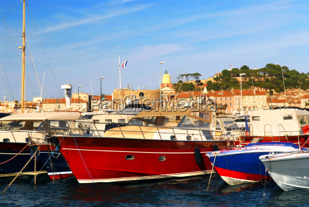 boats at sttropez