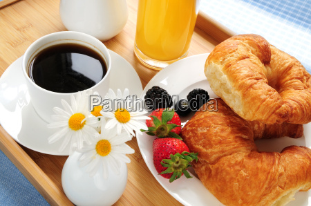 breakfast, served, on, a, tray - 1351609