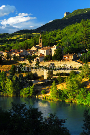 town, of, sisteron, in, provence, , france - 1351887