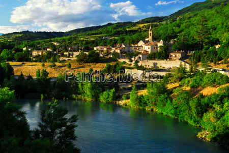 town, of, sisteron, in, provence, , france - 1351895