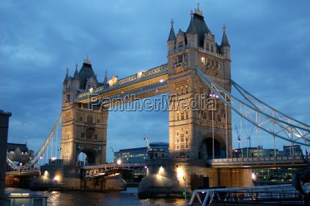tower, bridge, in, london, england - 1354227