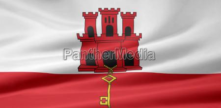 gibraltische, flag - 1359081