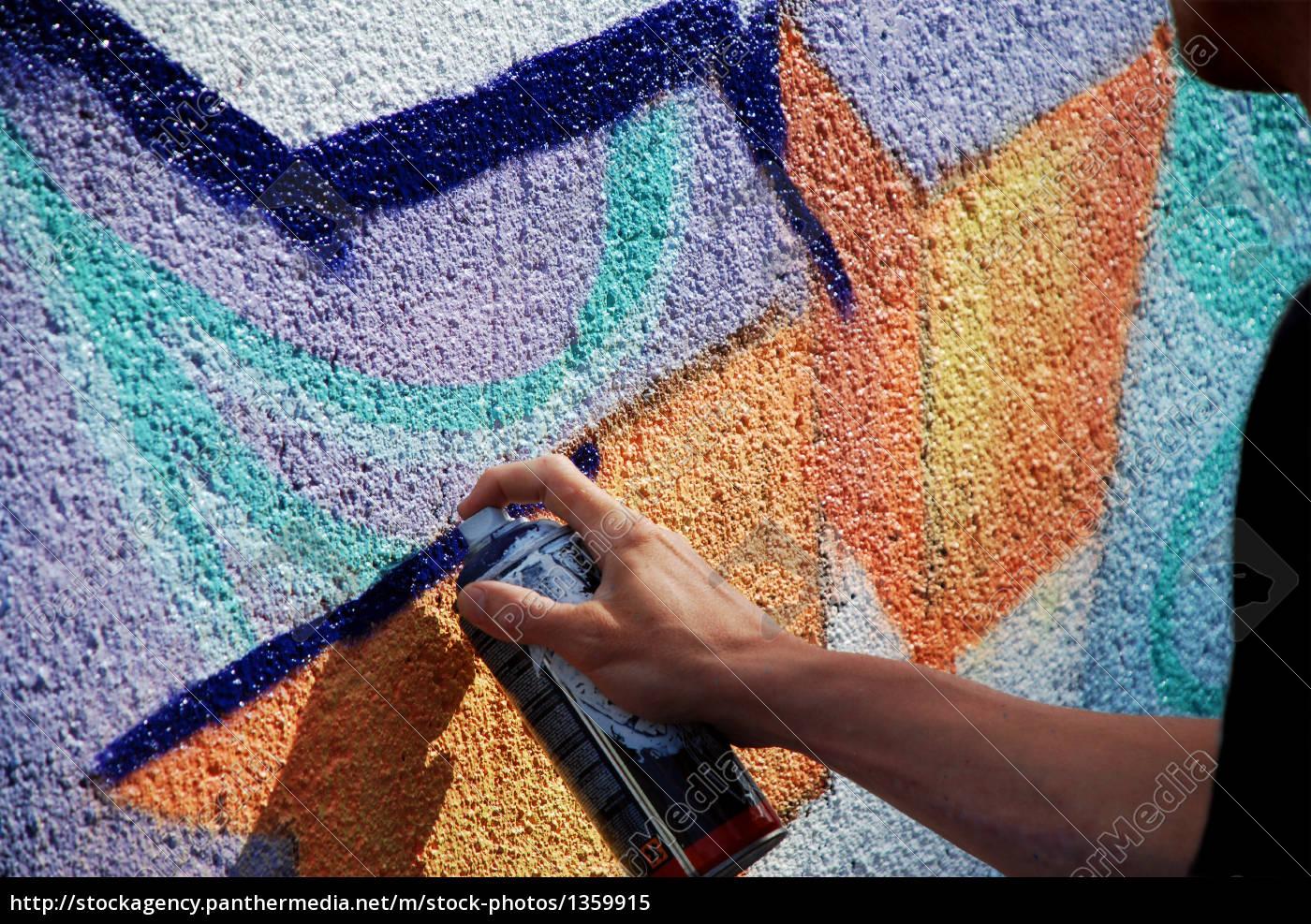 graffiti, in, progress - 1359915