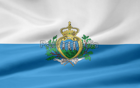 san, marino, flag - 1359095