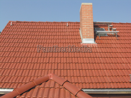 roof covering architecture chimney