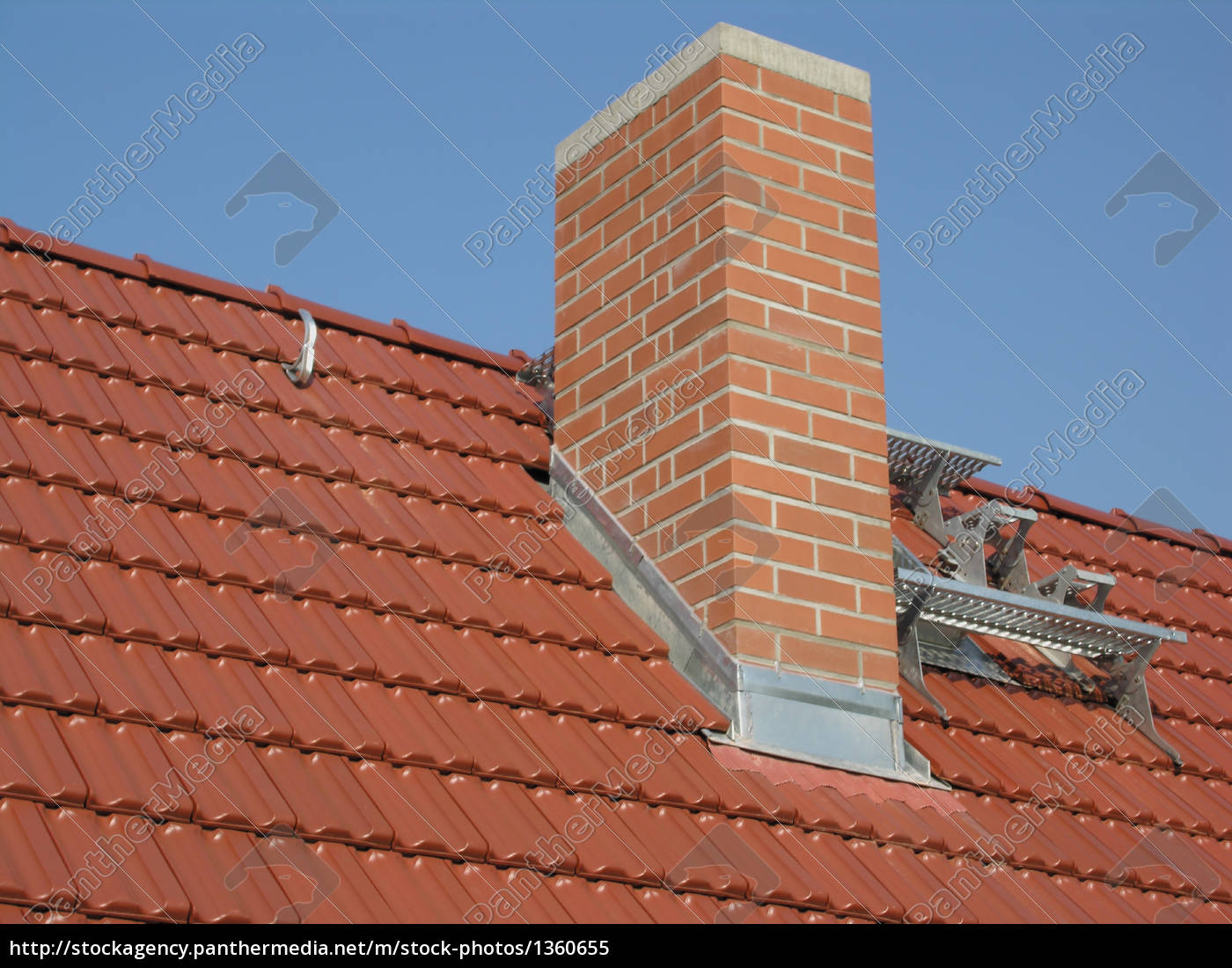 roofing, architecture, roofing, chimney - 1360655