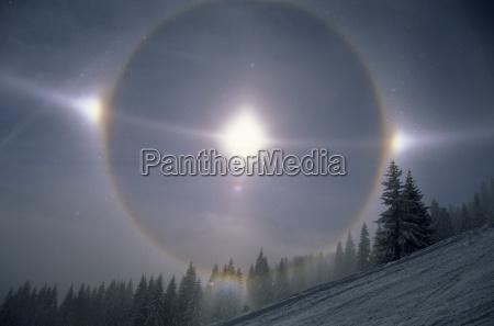 halo atmospheric optics