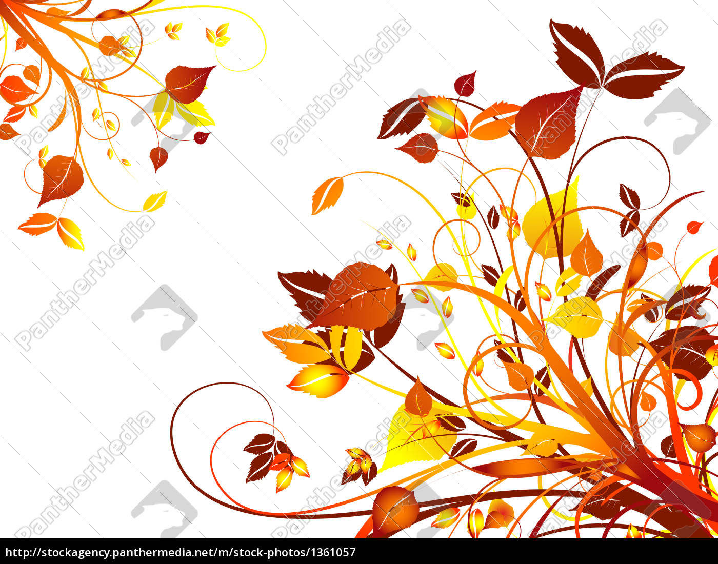 abstract, floral, design - 1361057