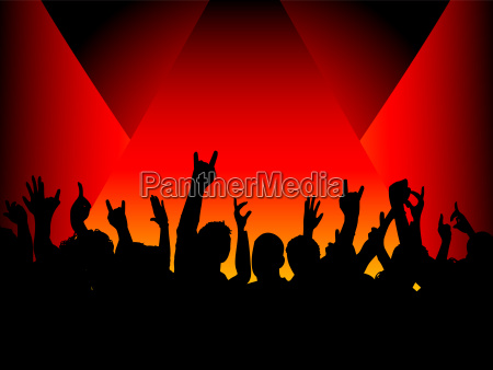 audience, in, spotlight - 1361189
