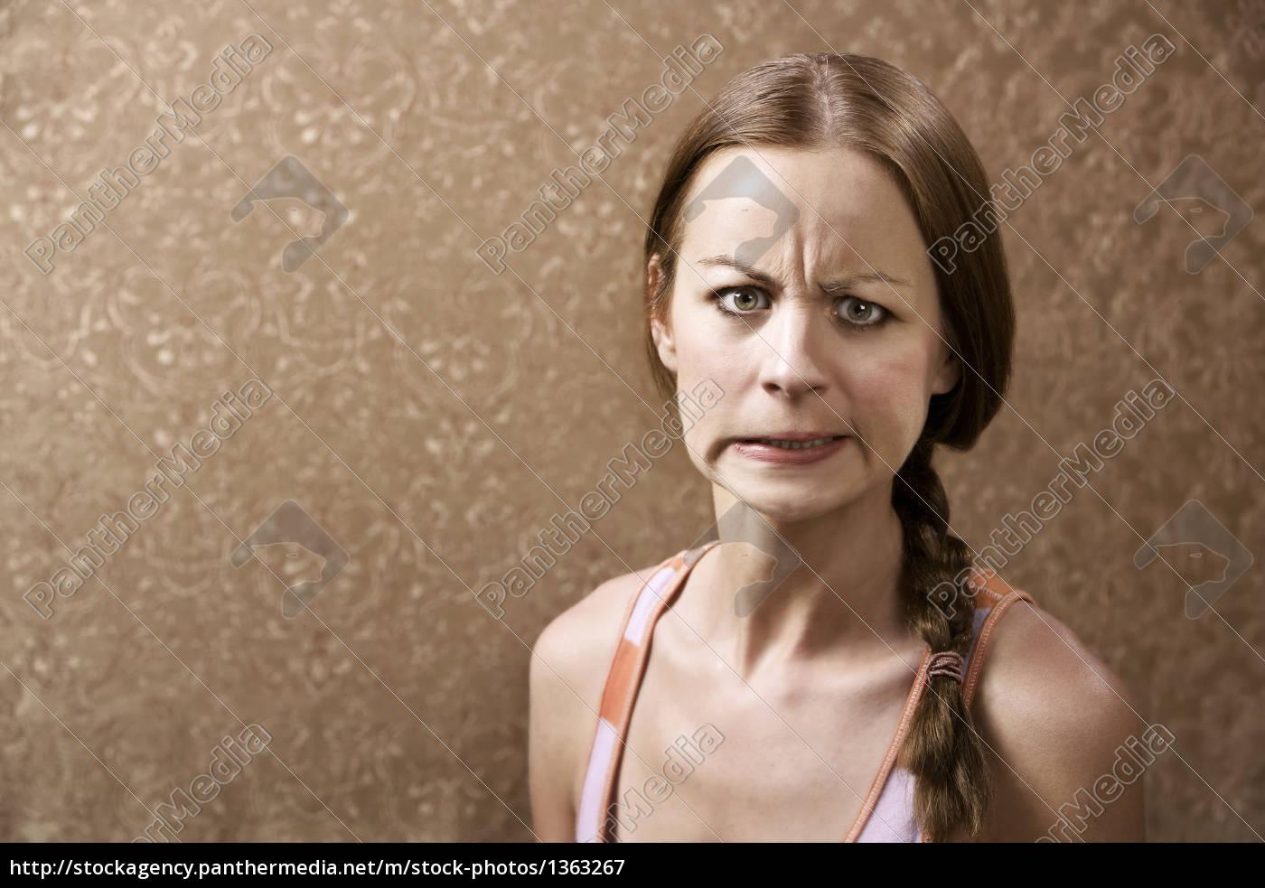 angry, woman - 1363267