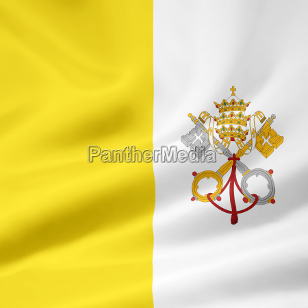 flag, of, the, vatican - 1364307