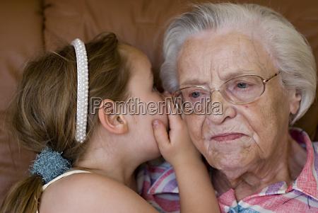 secret between grandmother and granddaughter