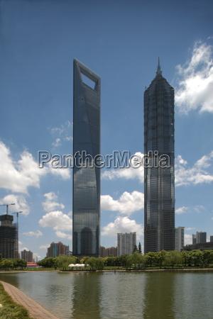 skyscrapers, in, shanghai - 1366163