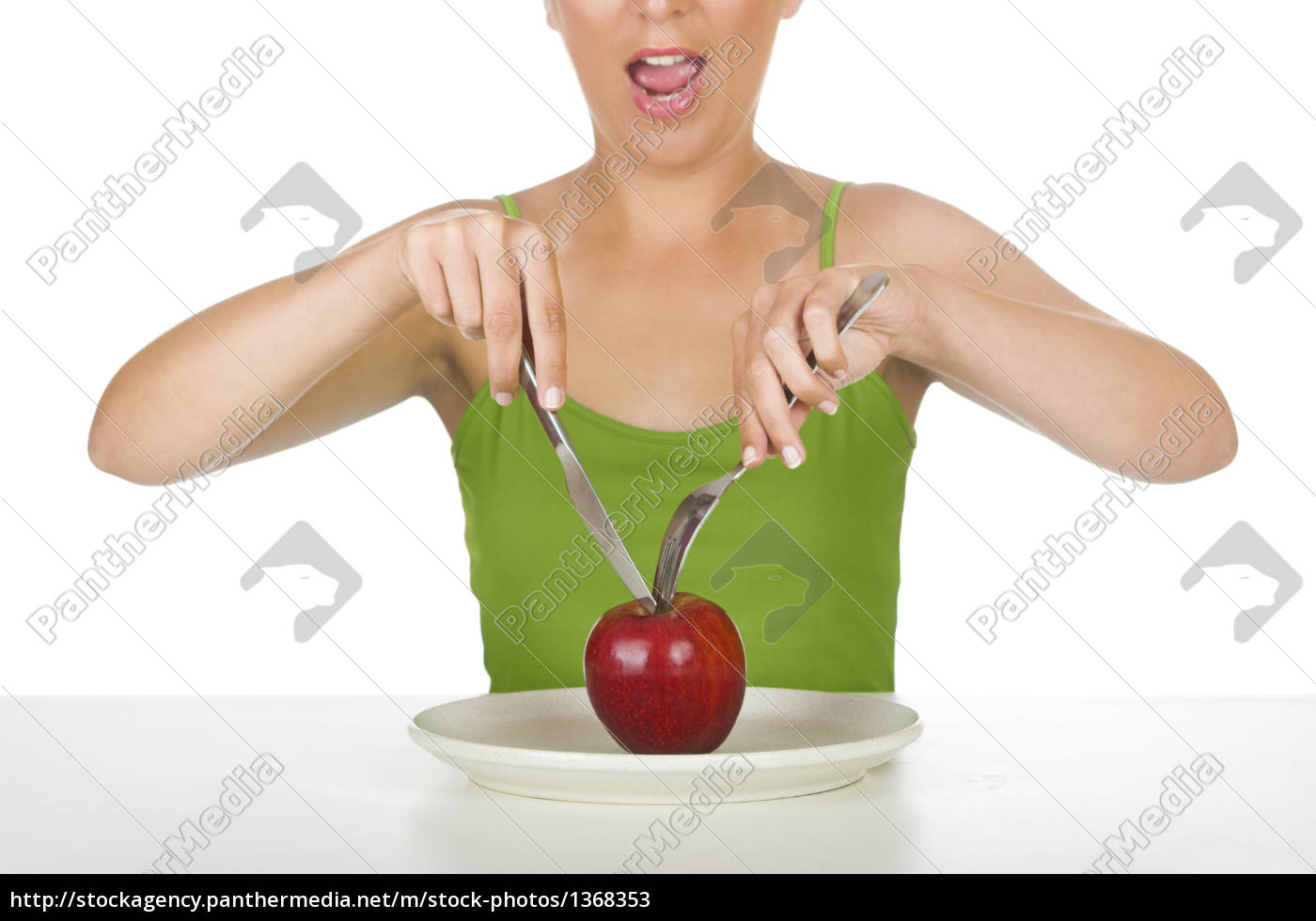 apple, hungry - 1368353