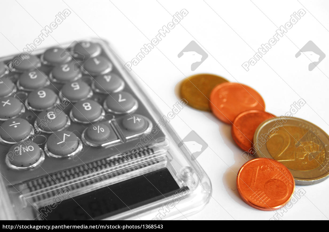 pocket, calculator, and, coins - 1368543